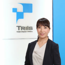 Mitsue Seki Representative Director and CEO TriIs Business Services Inc.(Director of TriIs Inc.)