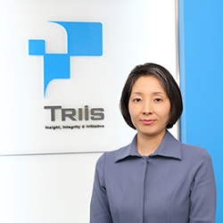 Katsunori Kuwajima Representative Director and CEO TriIs Business Services Inc.(Director of TriIs Inc.)
